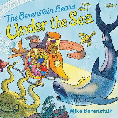 The Berenstain Bears Under the Sea - Under The Sea Font