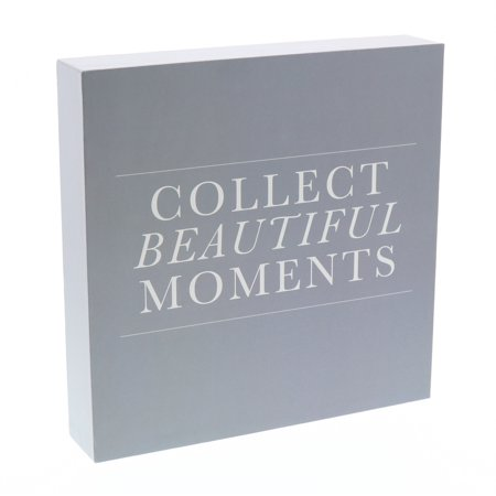 Barnyard Designs Collect Beautiful Moments Box Sign, Modern Quote Home Decor Sign With Sayings 8