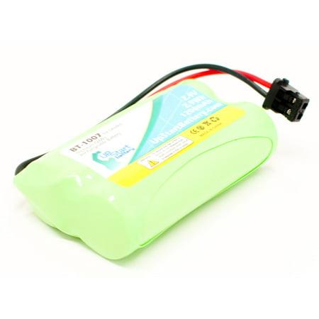 BT-1007 Battery for Uniden DCX150, DECT1580, DECT1560 and Panasonic KX-TG4000B, KX-TGA400B, KX-TGA420B Cordless Phones (1200mAh, 2.4V, NI-MH) 4 New 1200mah Batteries