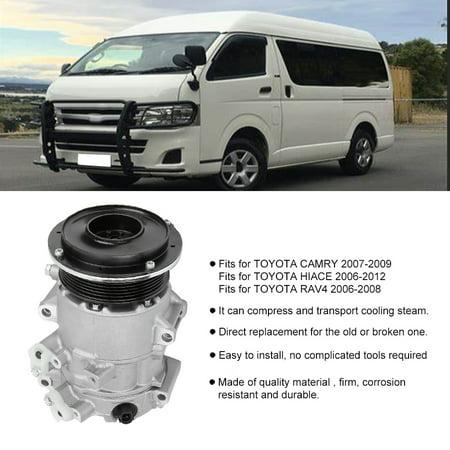 FAGINEY Air Conditioning Compressor, 4710613,AC Air Conditioning Compressor CO11178JC Fits for Toyota RAV4 2006-2008 Central Air Conditioning Compressors