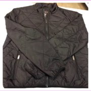 Michael Kors Men's Zip Front Closure Performance Wind-resistant Jacket M/Black