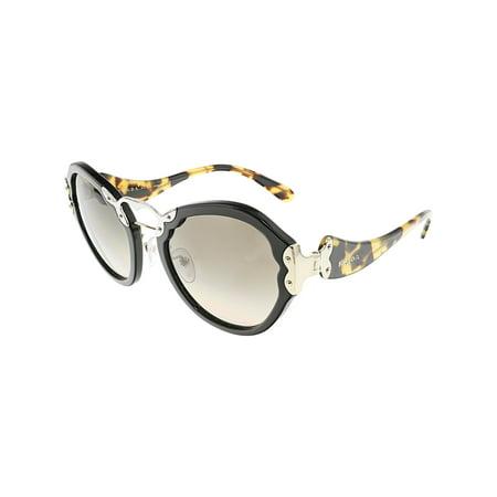 Prada Women's Gradient Wanderer PR09TS-1AB3D0-54 Black Butterfly (Prada Sunglasses)
