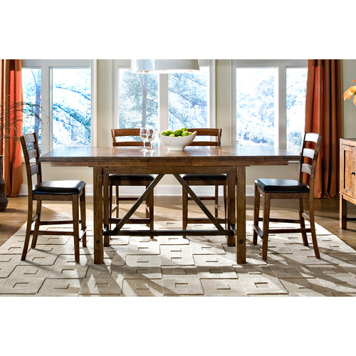 Imagio Home Santa Clara Solid Mango Gathering Table (Solid Mango 38x70-84 Gathering Table), Brown