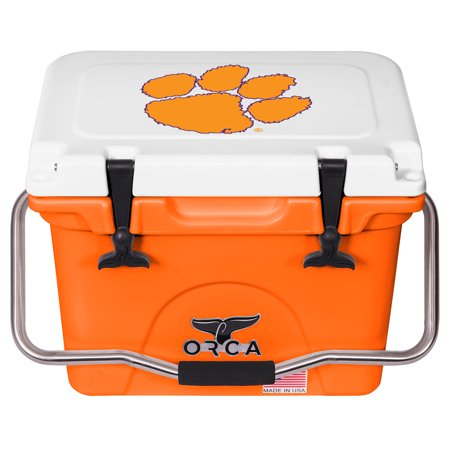 Clemson Tigers ORCA 20-Quart Hard-Sided Cooler - Orange - No Size