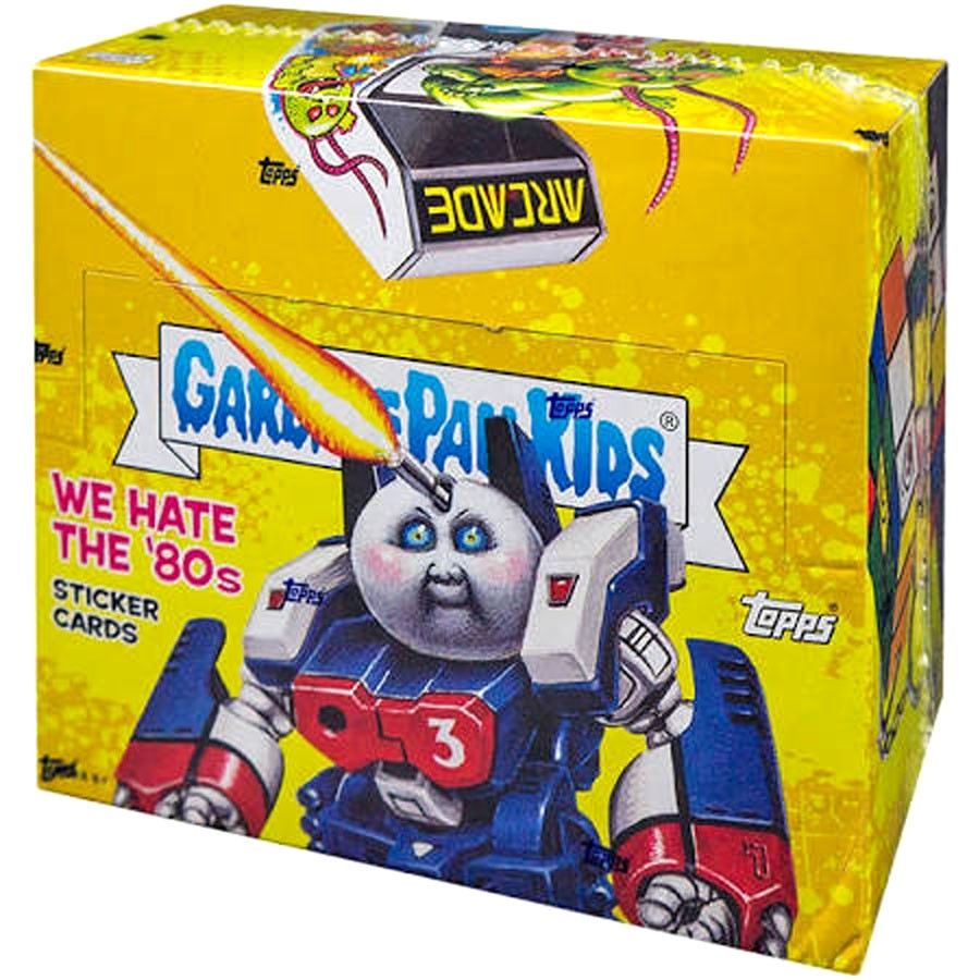 Garbage Pail Kids We Hate the 80s Trading Sticker Card HOBBY Box [24 Packs]