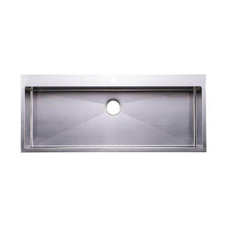 Prime Bai 1223 48 Handmade Stainless Steel Kitchen Sink Single Home Interior And Landscaping Palasignezvosmurscom