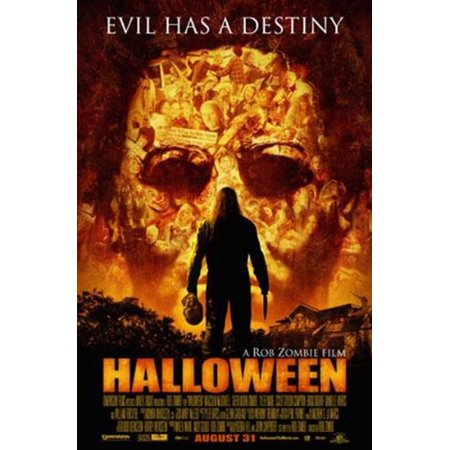 Halloween Movie Poster Evil Has A Destiny New 24x36 - Halloween Movie Poster Analysis