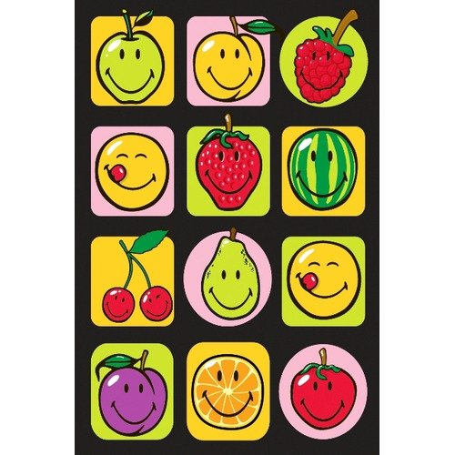 Fun Rugs Smiley World Fruitti Area Rug