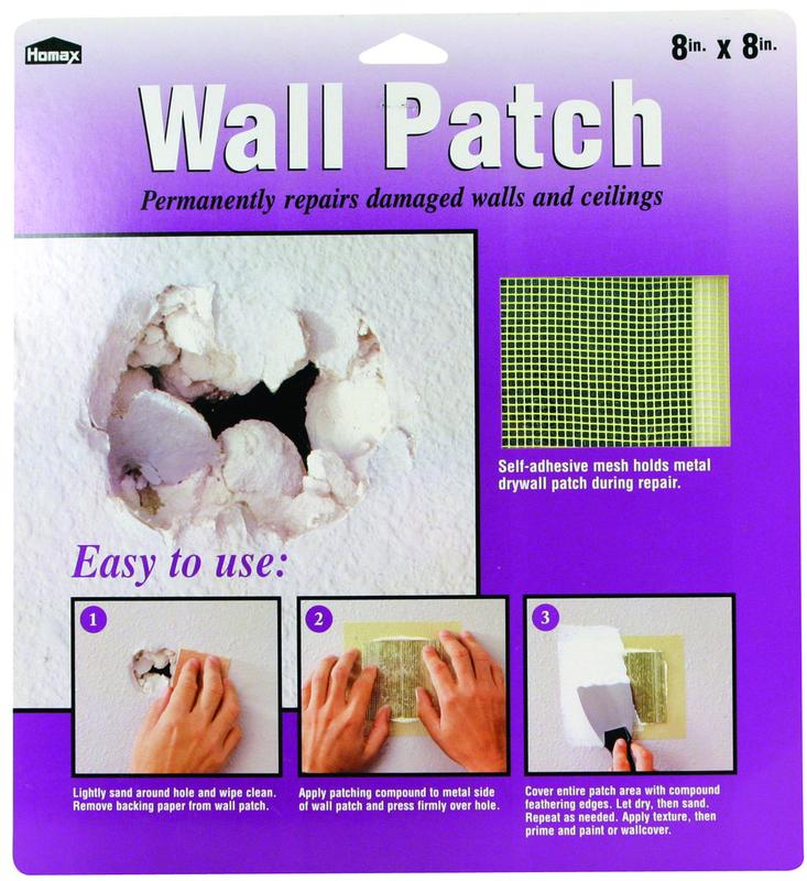 PATCH REPR WALL GALV STL 8X8IN
