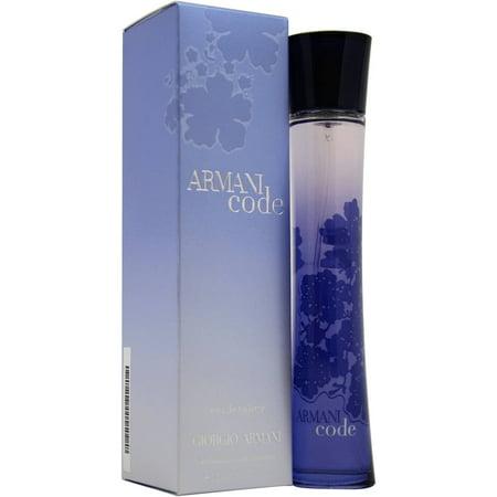 Image of Armani Code for Women Eau de Toilette Spray, 2.5 fl oz