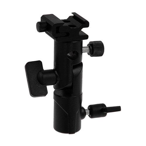 Fotodiox Pro Elite Flash Umbrella Bracket - With Swivel/Tilt Head, Mountable to Light stand and Tripod - fits Canon Speedlite