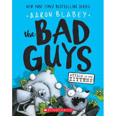 The Bad Guys in Attack of the Zittens (Paperback) - Halloween Ideas For Group Of Guys