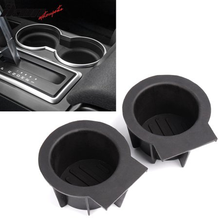 Ford Cup Holders (For Ford F-150 Expedition Navigator Front Console Cup Holder Inserts 2)