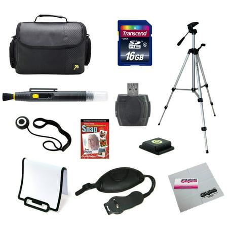 Digital SLR Camera 16gb Super Starter Kit for Canon, Nikon, Sony, Samsung, Pentax and Panasonic Cameras