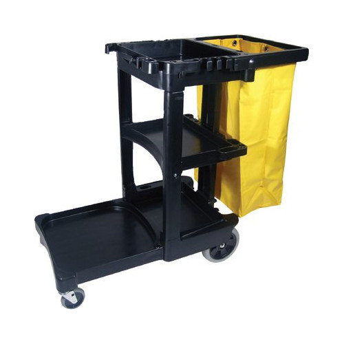 Rubbermaid Commercial Products Janitor Cart/Cleaning Trolley