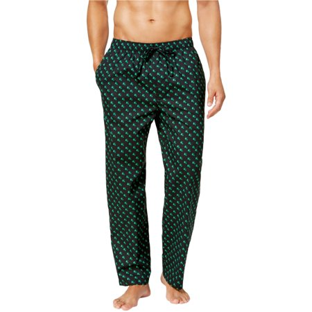 Club Room Mens Tree Pajama Lounge Pants black XL/31