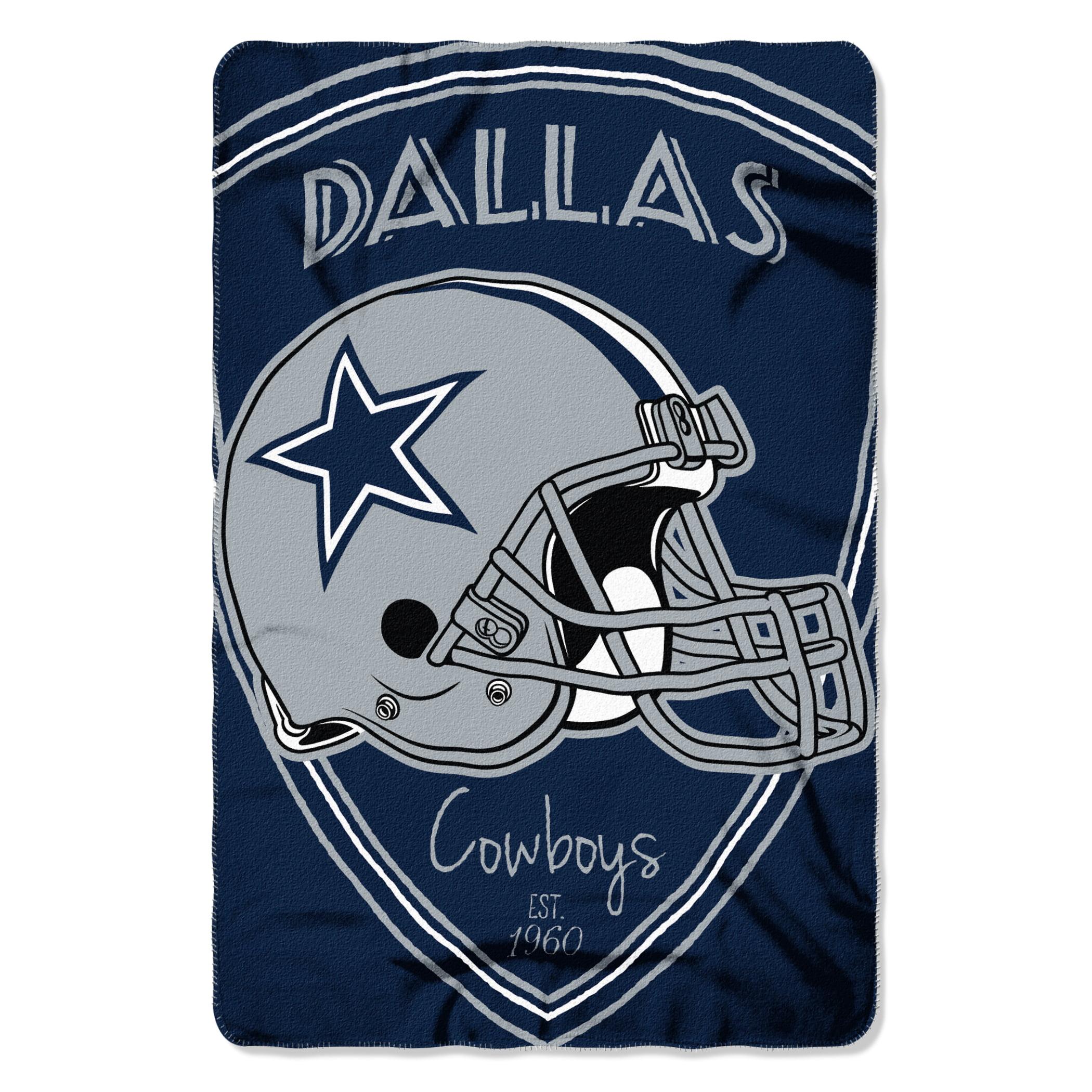 "NFL - Dallas Cowboys , ""Shield"" 40""x 60"" Fleece Throw"