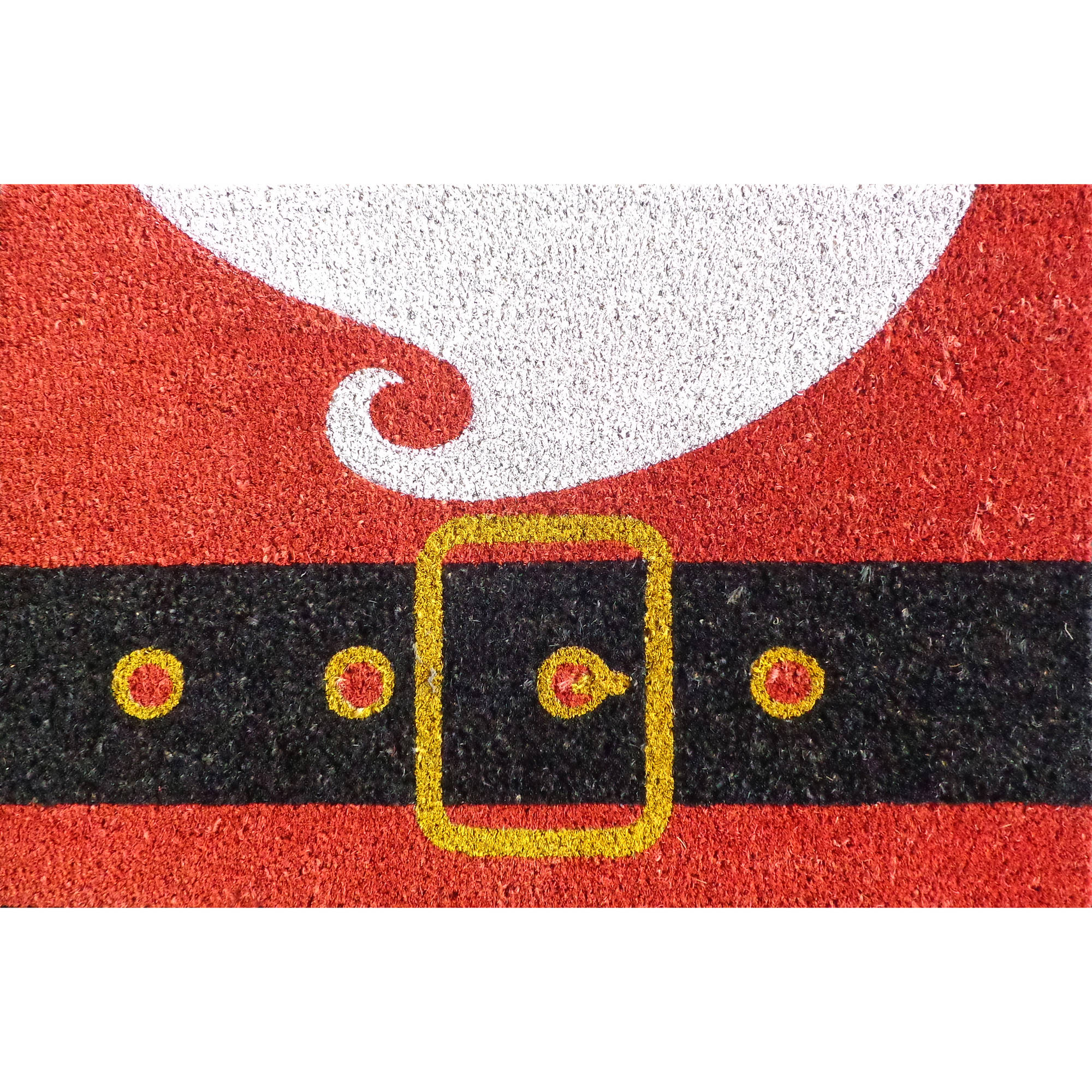 "Holiday Time 18"" x 27"" Santa Doormat Coir"