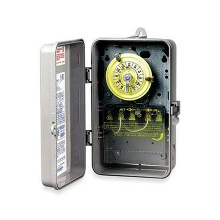 - Intermatic T104P Plastic Enclosure  208-277V DPST Multi Use Timer