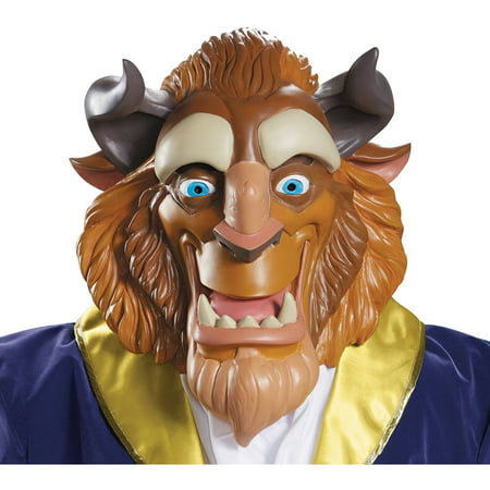 BEAST DELUXE ADULT MASK - Beast Halloween Mask