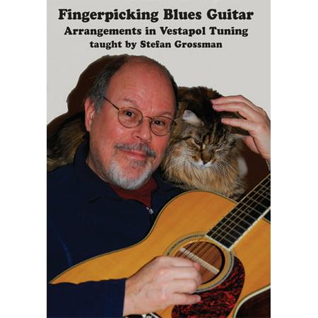 Blues Guitar Arrangements - Fingerpicking Blues Guitar Arrangements in Vestapol Tuning - taught by Stefan Grossman - DVD - GW1011DVD