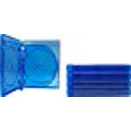 5) Empty 21mm Thick SIX DISC CAPACITY Blue Replacement Boxes