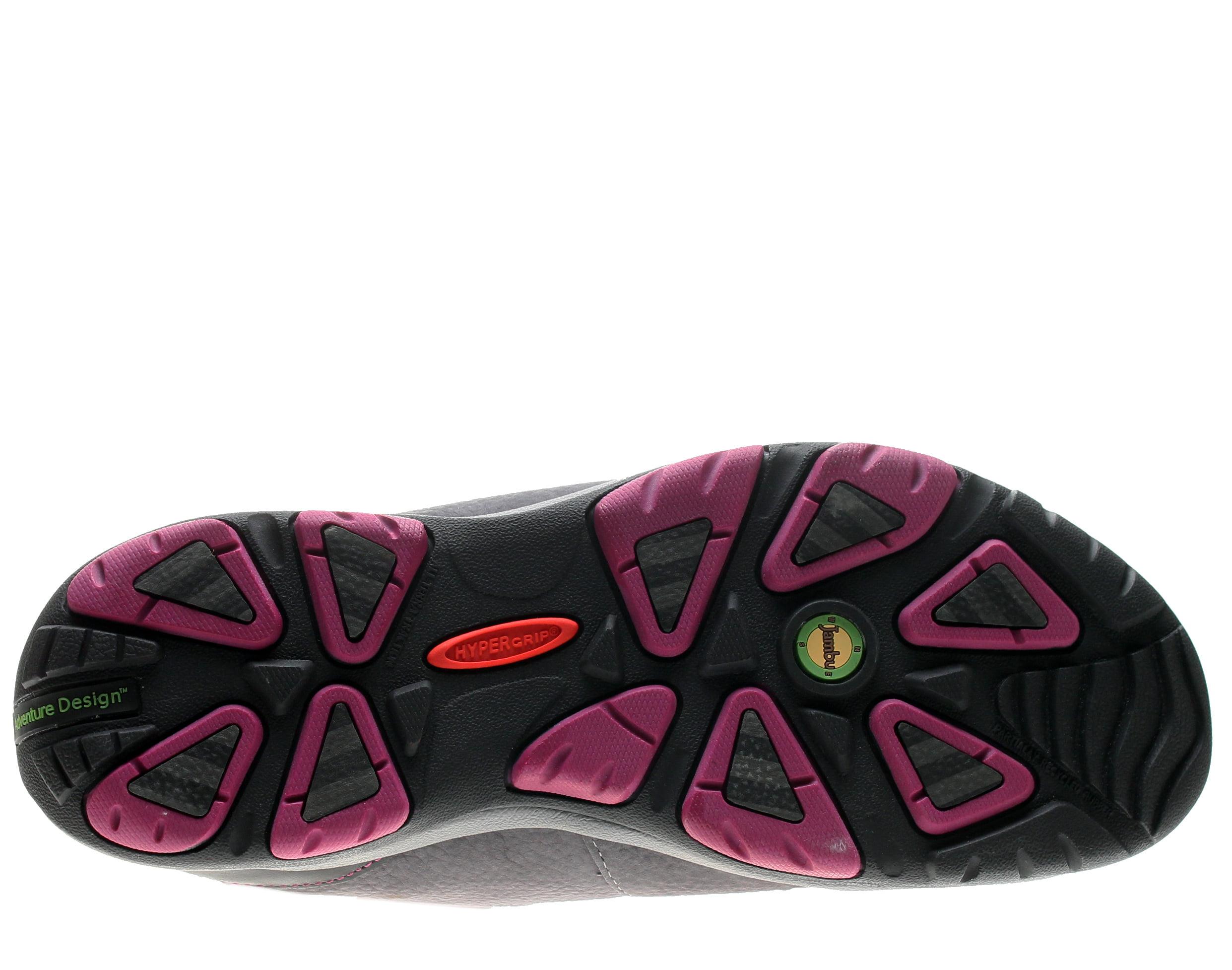 Jambu Vista-Hyper Grip Charcoal/Raspberry Women's Winter Boots WJ14VIS50