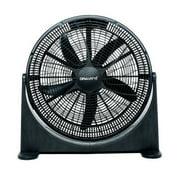 """Gravitti 20"""" 3 Speed Floor Fan - Black"""