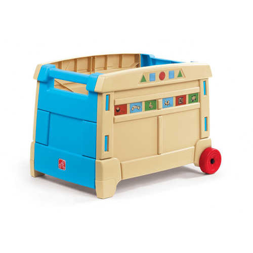 Step2 Lift and Roll Toy Box  sc 1 st  Walmart & Step2 Lift and Roll Toy Box - Walmart.com Aboutintivar.Com