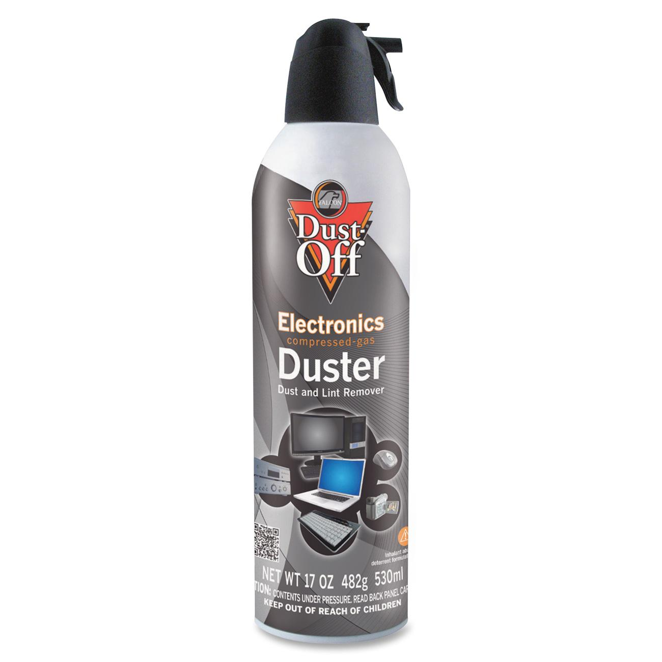 Falcon, FALDPSJMB, Dust-Off Jumbo Disposable Dusters, 1 Each, Gray