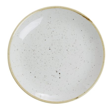 "Churchill Barley Coupe Bread And Butter Plate Super Vitrified Stonecast China - 6 1/2""Dia (SWHSEVP61)"