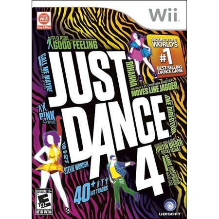 Just Dance 4 (Nintendo Wii)  Pre-owned