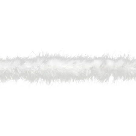 Simplicity Wright White Feather Boa, 1 Each](Gold Feather Boas)