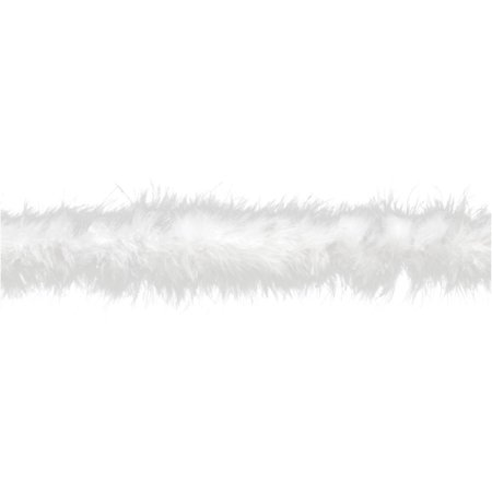Simplicity Wright White Feather Boa, 1 Each - Cheap Feather Boas Bulk