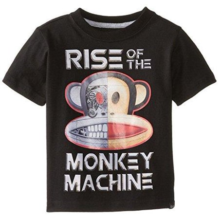 Paul Frank Toddler Boy's Julius Monkey Machine Short Sleeve Tee