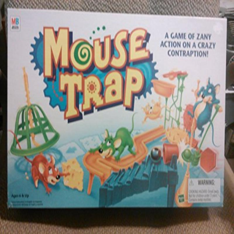 Mouse Trap Board Game 1999 Edition by Milton Bradley by