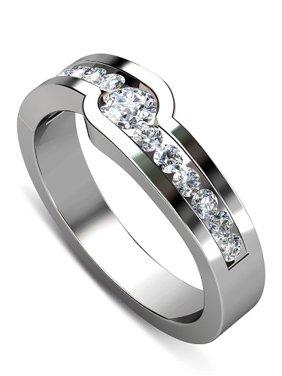 Diamond Wedding Band - 0.30CT Round Cut