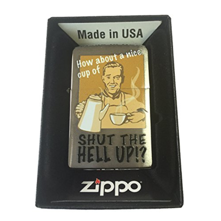 Zippo Custom Lighter - Nice Cup of