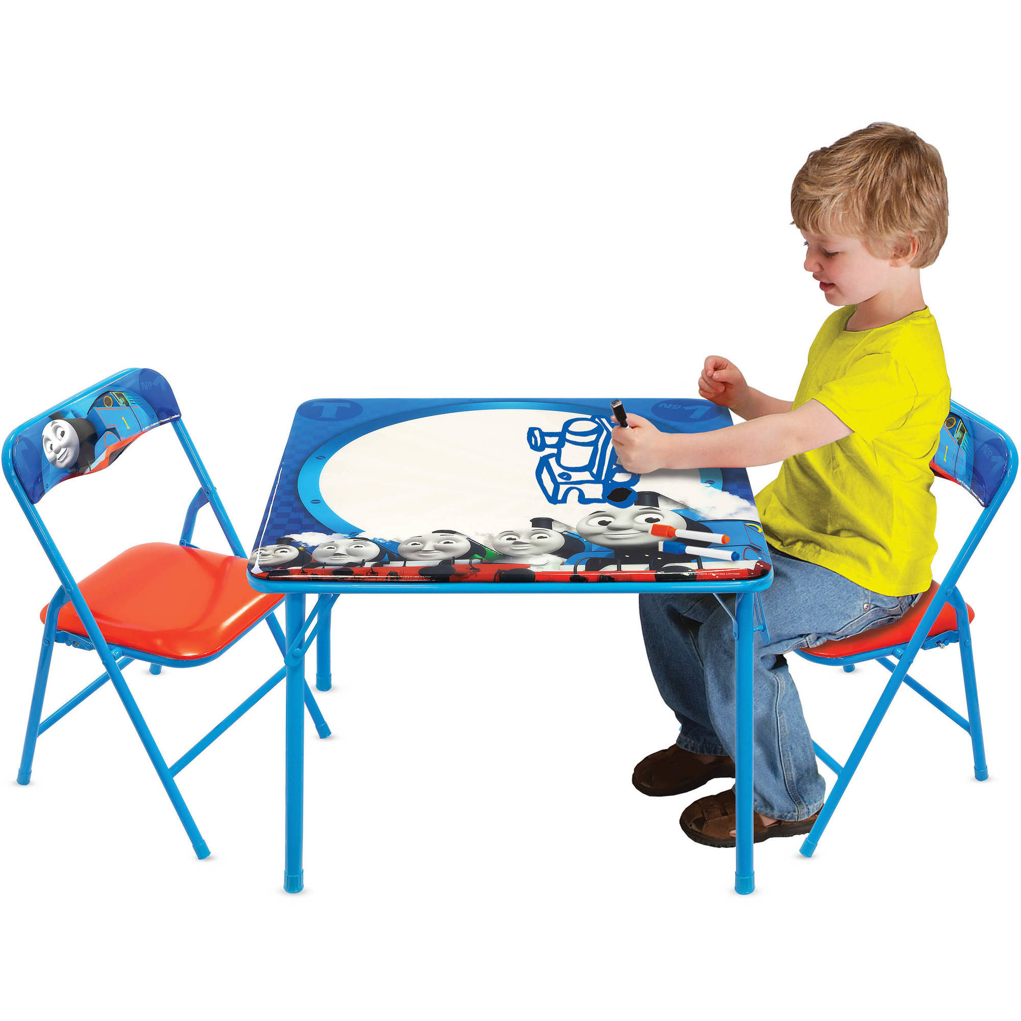 Thomas and Friends Erasable Activity Table Set with 3 Markers ...