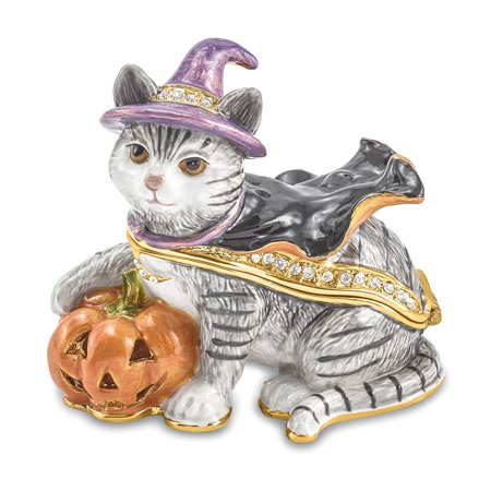 SERENA Halloween Cat Trinket Box - Halloween Trinkets