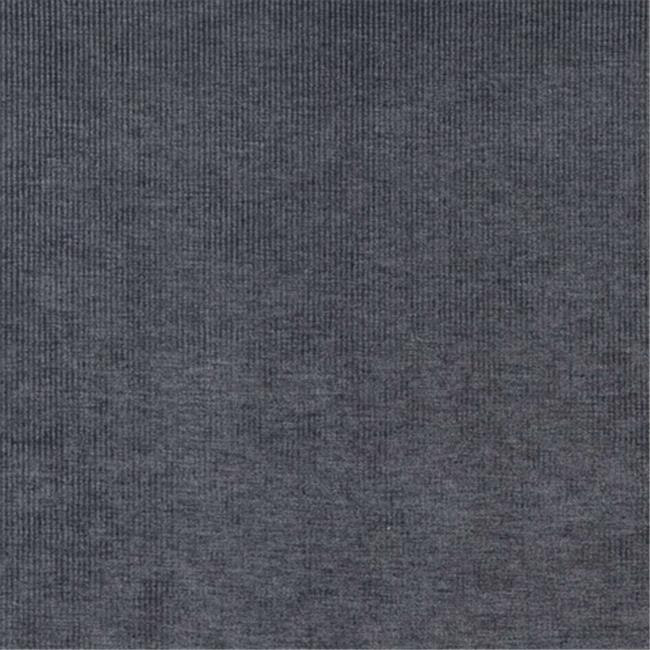 Designer Fabrics D219 54 in. Wide Dark Blue, Striped Woven Velvet Upholstery Fabric