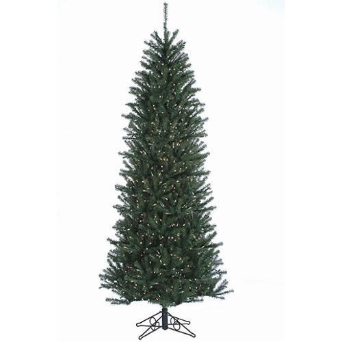 14' Slim Alexandria Pine Pre-Lit Artificial Christmas Tree - Clear Lights