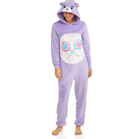 Women's and Women's plus care bears share bear union suit