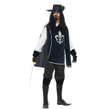 Dashing Musketeer Adult (Men's Musketeer Costumes)