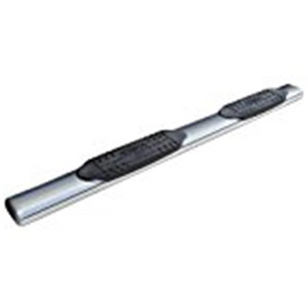 """Short Bed - 41"""" Universal SS Bed Rail (w/ Foot Plate - Drill Mount/Stakehole Mount) - image 3 de 3"""