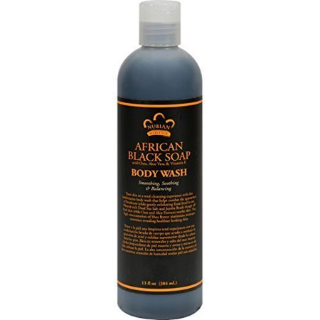 : African Black Body Wash, 13 oz (Pack Of 3), International Shipping World Wide 14-29 Day New Package By Nubian Heritage Ship from US