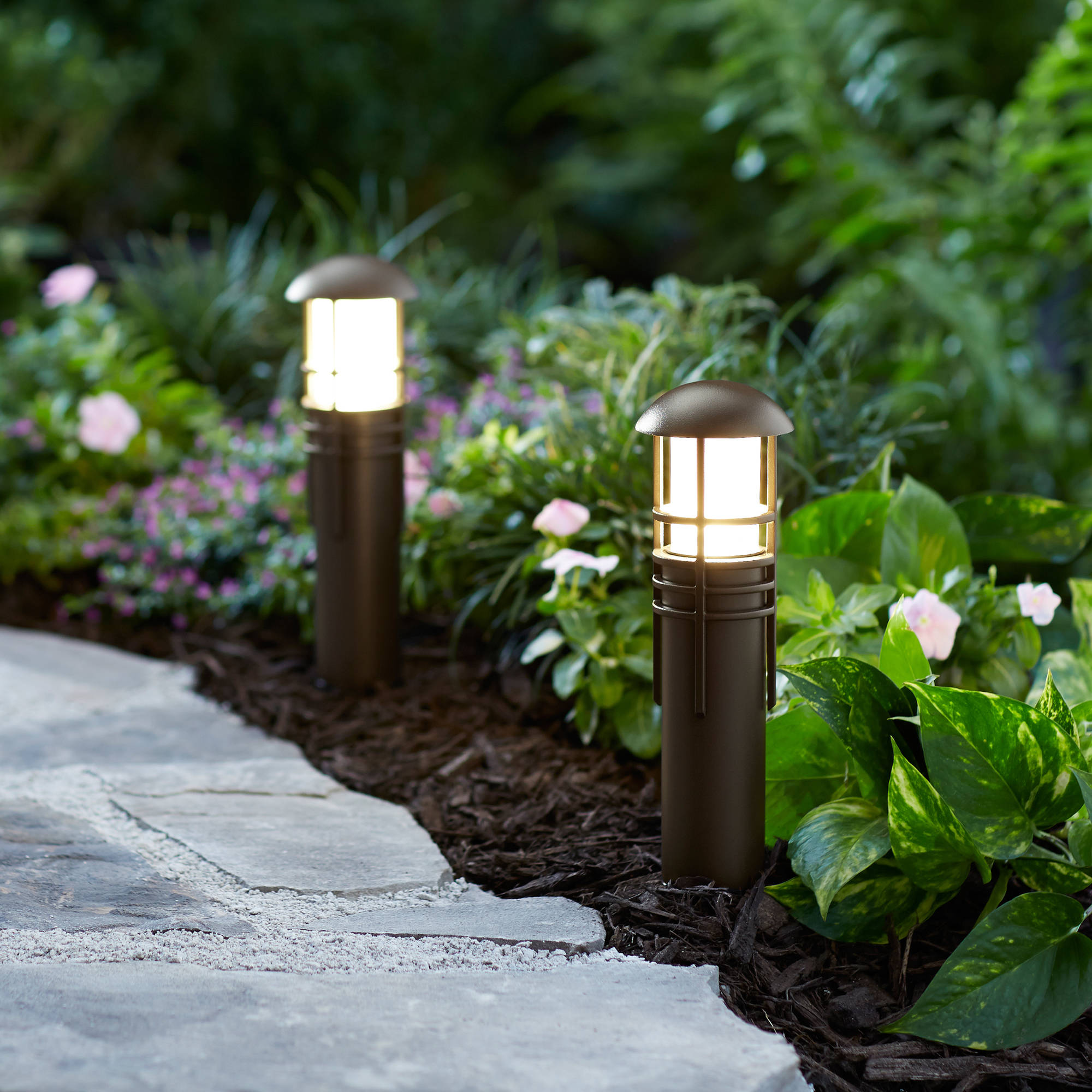 better homes and gardens lighting. better homes and gardens 1piece prentiss quickfit led pathway light lighting e