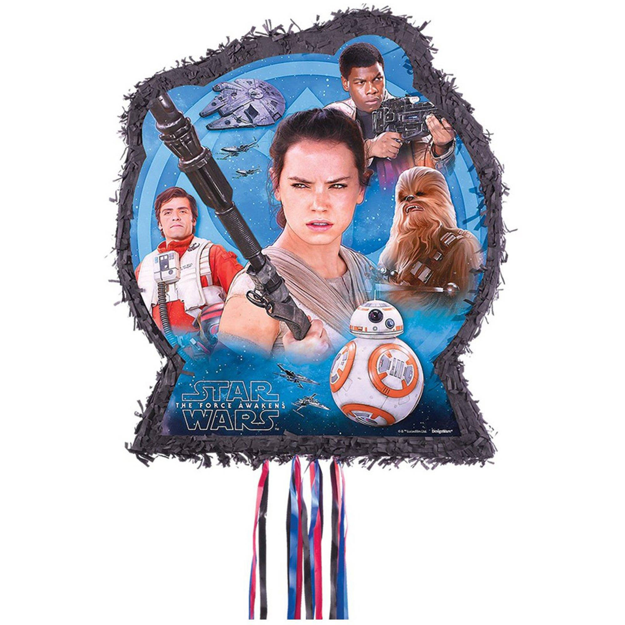 Star Wars Episode VII The Force Awakens Outline Pinata
