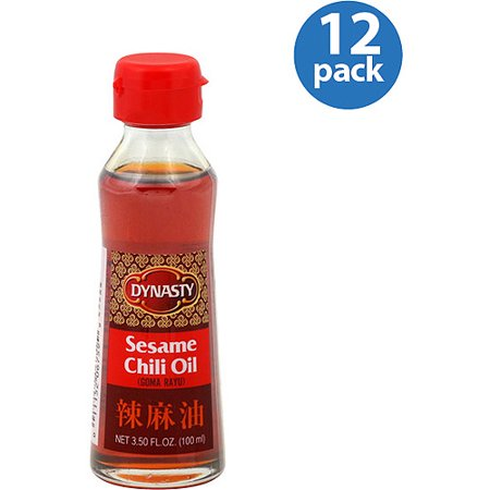 Dynasty Sesame Chili Oil, 3.5 oz (Pack of 12) - Walmart.com