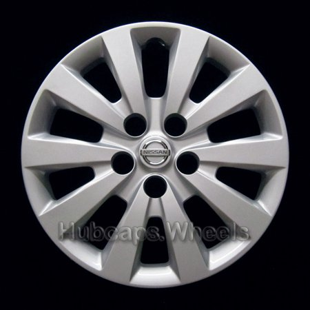 OEM Genuine Nissan Wheel Cover - Professionally Refinished Like New - 16in Replacement Hubcap Fits 2013-2017 Sentra 1988 Nissan Sentra Wheel